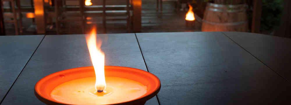 Wonderbaarlijk Vlamschaal terracotta - Budget Kaarsen GY-63